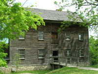 One of the mills at Ball's Falls