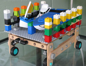 Lego model of Big Chute