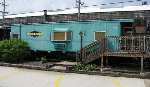 The caboose I want to stay in - Illinois Central