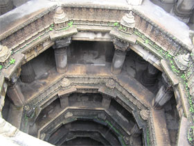 A step well in Ahmedabad
