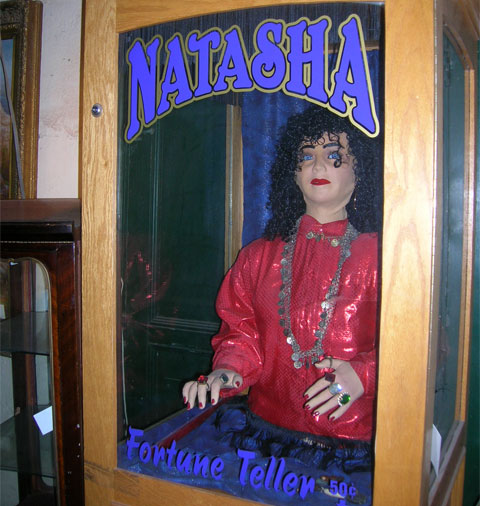 Natasha the Fortune Teller