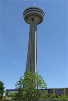 Skylon Tower, the Space Needle of Niagara
