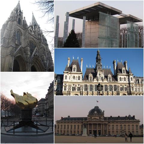 Liberty Flame, Paris