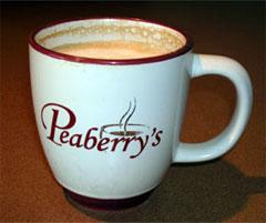 A Peaberry's breve undergoes my rigorous taste test (score: A+)