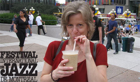 Amarula: Milli's favorite drink at the Montreal Jazz Festival 2009