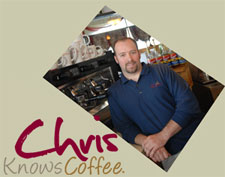 Chris Cole lists his occupation as Full-time Coffee Expert