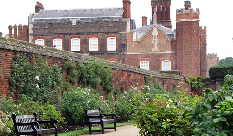 A Glance at Three of Hampton Court Palace's World-Famous Gardens