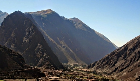A view of the Urubamba Valley