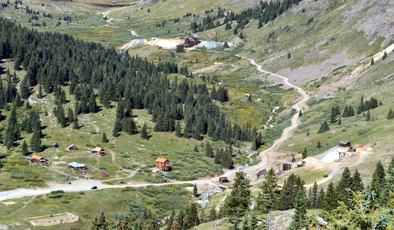 Another view of Animas Forks, Colorado