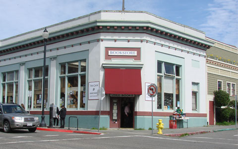 Tin Can Bookstore, Arcata, California