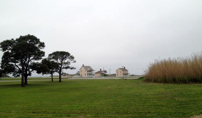 At Fort Morgan's historic site