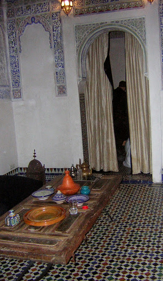 Our apartment at the riad