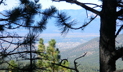 Taos from above