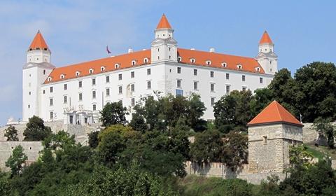Standing tall, Bratislava Castle