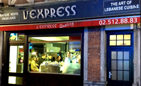 L'Express in Brussels