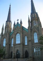 St. Dunstan's Basilica. Charlottetown, PEI