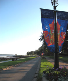 Ocean walk along Charlottetown Harbor