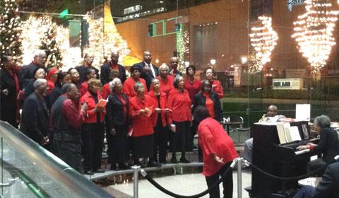 African-American choir