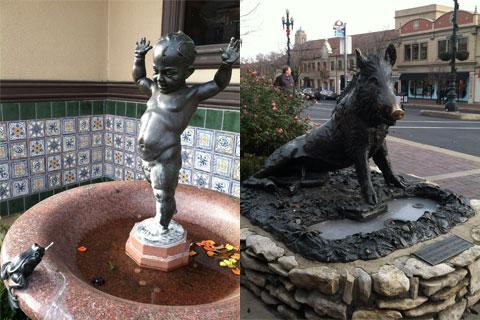 Fountains in Kansas City