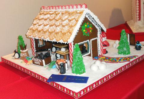 Santa Snowman Repair Shop
