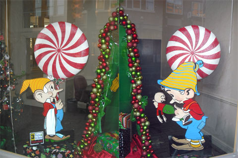 Vernon Grant Christmas gnomes