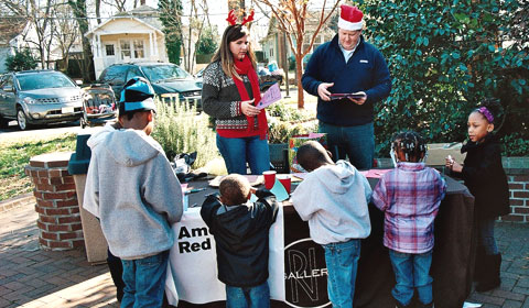 Holiday Mail For Heroes, Rock Hill, SC American Red Cross