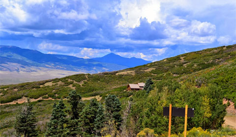 Hayden Pass Summit, CO