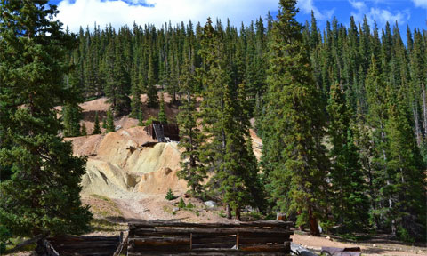 Old mining camp, Colorado