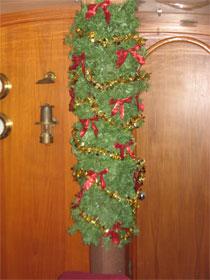 A cruiser's Christmas tree