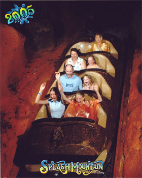 Walt Disney World Splash Mountain