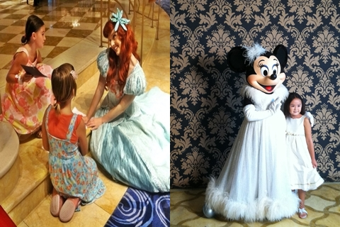 Ariel has a little chat with a couple of fans.