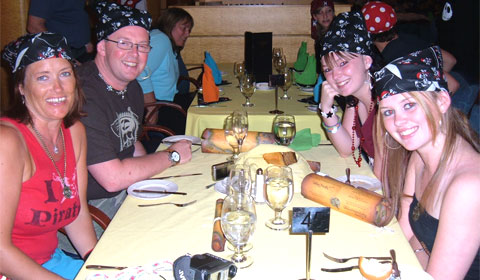 Pirate Night dinner