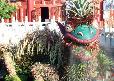 Dragon in Japan, Disney World
