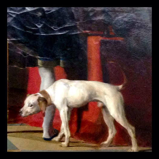 My first, Dogs of the Louvre, capture