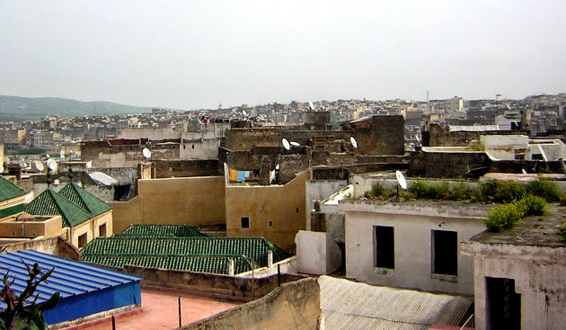 Fez, Morocco - View from the Riad