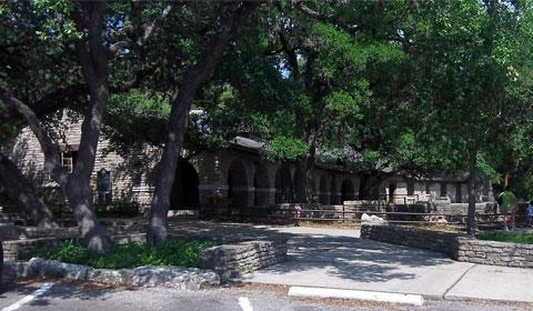 Garner State Park pavilion