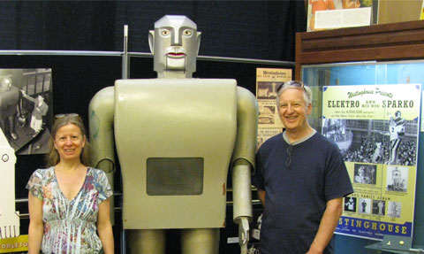 Elektro Man, Mansfield Memorial Museum