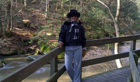 The boardwalk in Mill Creek Park