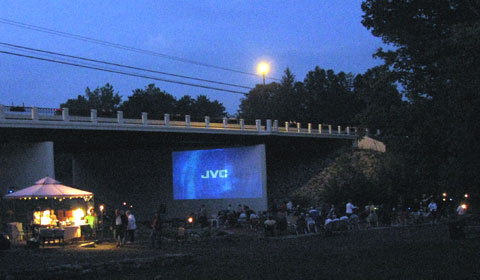 Yellow Creek Theatre aka Movies Under the Bridge