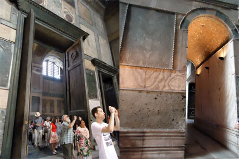 Doorways, Hagia Sophia