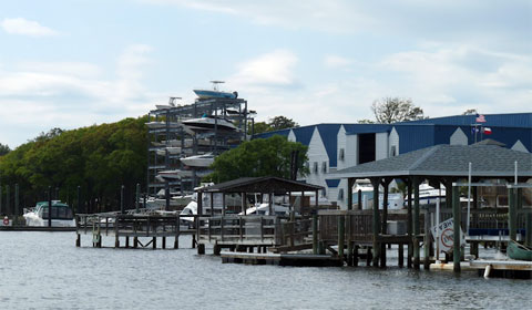 Intracoastal Waterway - boat lift