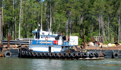 The Intracoastal Waterway - dredging