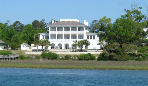 The Intracoastal Waterway - mansion