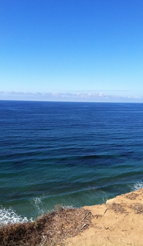 Hiking Torrey Pines: a breathtaking way to get down to the seashore