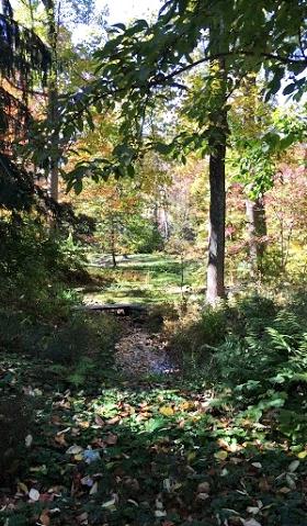 Fall colors of Chanticleer Gardens.