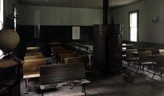 Inside the school house