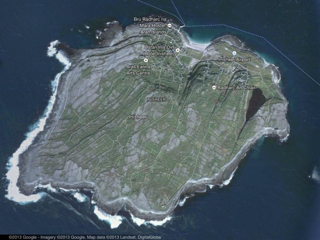 Satellite of Inis Oirr (aka Inisheer)