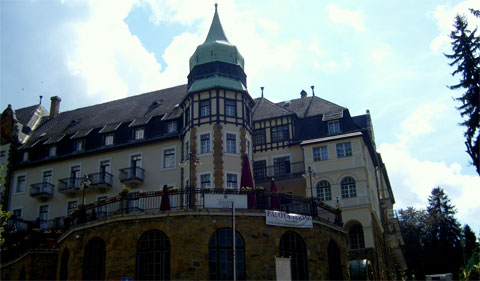 The Palace Hotel, Lillafured