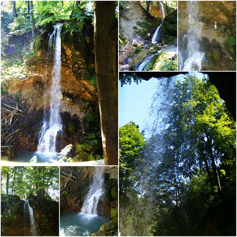 Waterfalls of Lillafured