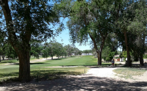 Lobo Trails Albuqerque Gold Trail at the University golf course